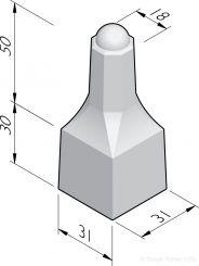 Sierpaal Lodijcke mini