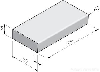 Traptreden 50x16 prefab