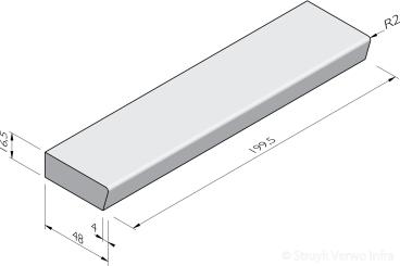 Traptreden 48x16,5 prefab