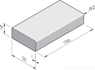 Traptreden 50x18 prefab
