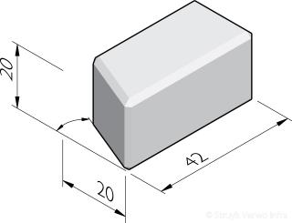 Stapelblok hoekstukken 20x20