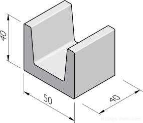 U-blokken 40x50x40