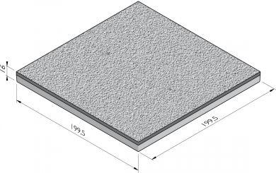 Vloerplaat striprand constructief
