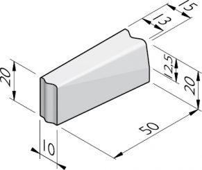 Verloopbanden 10x20 vb