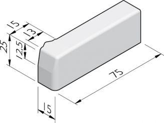 Inritperronbanden 13/15x25 vb