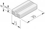 EV-Kabelgoottegels 15x30