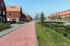 Binnenplein woon & schoolcomplex