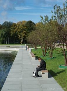 Inrichting Waterpartij Erasmus universiteit