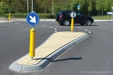 Aanleg verkeersheuvels
