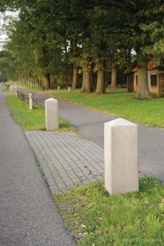 markering inrit Molenstraat